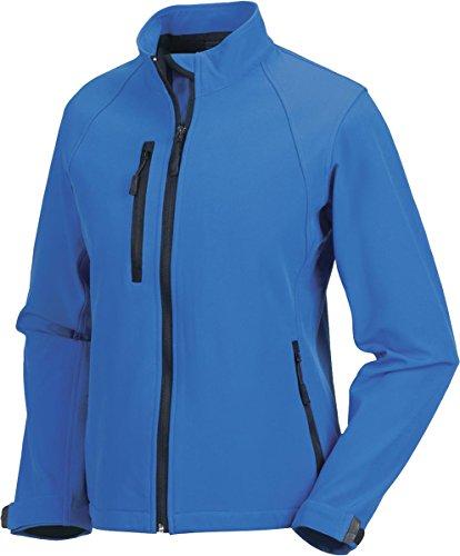 Neu Russell Collection Damen Softshell Jacke Reißverschluss Atmungsaktiver Mantel Jacken - Titanium, S