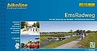 EmsRadweg: Von der Senne bis zur Nordsee - Mit Dortmund-Ems-Kanal. 1:50.000, 382 km, wetterfest/reissfest, GPS-Tracks Download, LiveUpdate