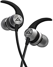 Boult Audio BassBuds X1 in-Ear Wired Earphones with Mic and 10mm Powerful Driver for Extra Bass and HD Sound (Gray)