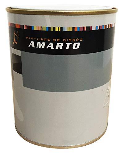 Pintura quitamanchas antihumedad.Pintura sintética al disolvente para aislar y eliminar manchas de humedad, humos, grasa, nicotina (4L)