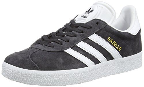 Adidas Originals Gazelle, Zapatillas Unisex Adulto, Negro (Utility Black/FTWR White/Gold Met.), 36 2/3 EU