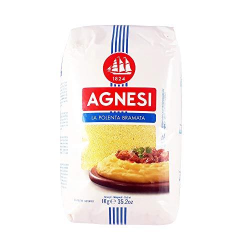 Agnesi - POLENTA BRAMATA 1KG - Produit artisanal italien