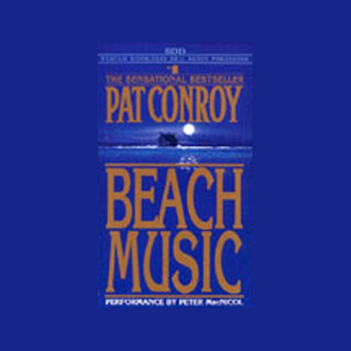 Beach Music audiobook cover art