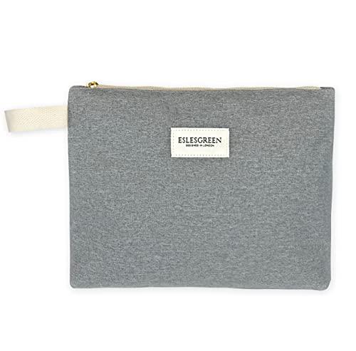 ESLESGREEN - Bolsa para pañales, pañalera impermeable 23 cm x 29 cm