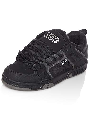 DVS Comanche, Chaussures de Skateboard Mixte, Noir (Black Refl.Charcoal Nubuck 985), 44 EU