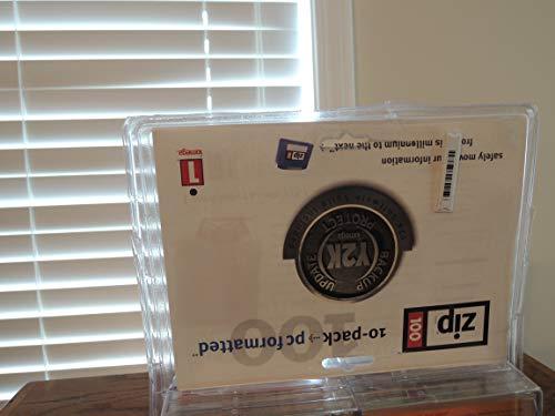 Iomega 100MB Multi-Colored Zip Disk Confezione da 10