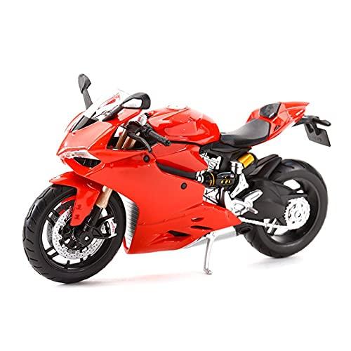 Motocicleta Miniatura 1:12 DIAVEL Carbon 1199 NINET para YZF-R1 Z900RS para Ninja H2 R ZX-10R Diecast Alloy Motocicleta Modelo de Juguete para Panigale  R1200GS (Color : 2)