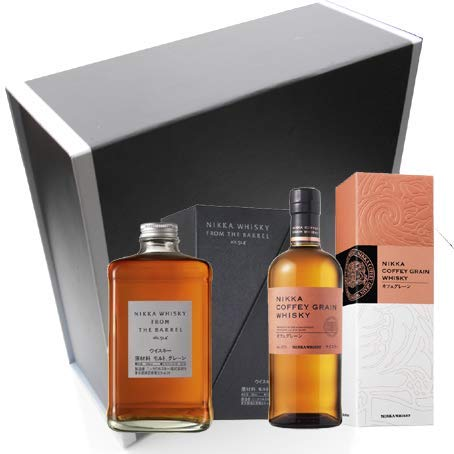Coffret Cadeau Vinaddict - Whiskys Nikka : Nikka Coffey Grain et Nikka From the Barrel