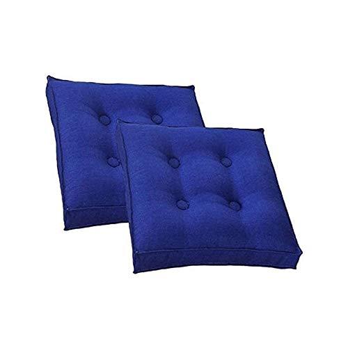 TYHZ Cojines para Sillas Cojines Honeycomb Patronable Resistente a la Lavable Resistente para Sillas de Comedor/Sillas de Oficina/Suelo de Madera, Asiento 2PACK Cojines sillas Comedor