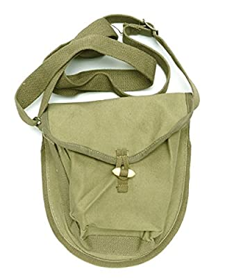 Ultimate Arms Gear SKS AK47/AK74 AKM 75 Round Drum Magazine OD Olive Drab Green Pouch with Shoulder Strap Unissued New Chinese Chi-Com Government Military Genuine Surplus
