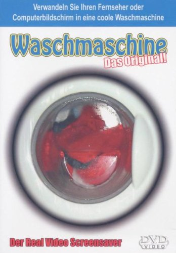 Real Video Screensafer - Waschmaschine