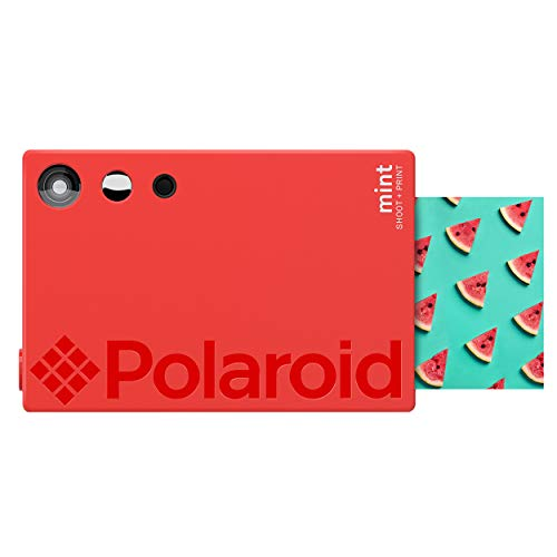 Zink Polaroid Mint Instant Print Digital Camera (Red), Prints on Zink 2x3...