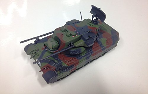 Unbekannt Panzer 1:72 Military Vehicle Panzer WAR WW2 Flakpanzer Gepard Germany 20