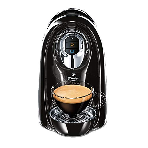 Tchibo Cafissimo Compact Kaffee Kapselmaschine, schwarz