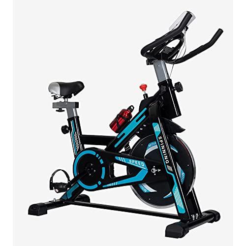 XLAHD Serie de Bicicletas Verticales, Bicicletas estáticas para Interiores con Resistencia magnética para Entrenamiento en casa, transmisión por Correa silenciosa con Monitor LCD