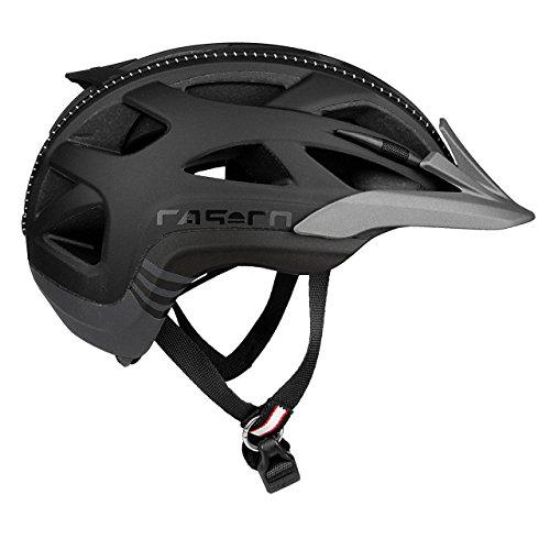 Casco Erwachsene Active 2 Fahrradhelm, Mehrfarbig (mehrfarbig (schwarz-anthrazit)), M (56-58 cm)