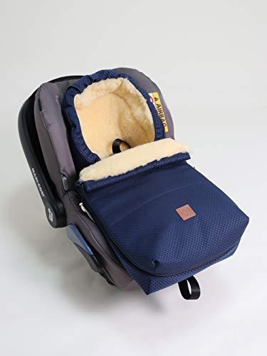 Kaiser 6534113 Emma - Saco de dormir para bebé (piel de cordero, 950 g), color azul