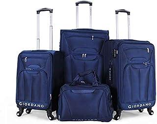 جيوردانو حقائب سفر 4 عجلات ، قطع 3 ، 161778- NAVY