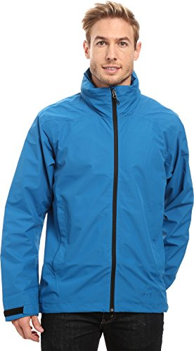 adidas Outdoor Men's 2 Layer Wandertag Gore-Tex Jacket, Unity Blue, XX-Large
