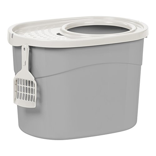 IRIS Top Entry Cat Litter Box