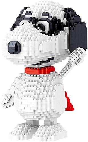 LDDZB Mini Bloques Snoopy Building Blocks DIY Mini Diamond Block Block Training Habilidad Habilidad Toy, B (Color : B)