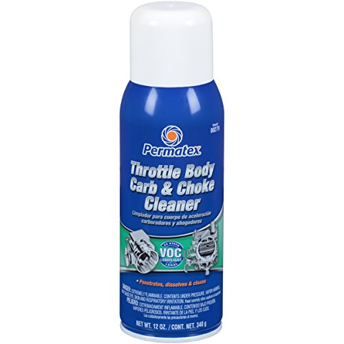 Permatex 80279 Motor Muscle Throttle Body Carb and Choke Cleaner, 12 oz.