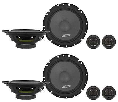 alpine audio speakers (2) Pairs Alpine SXE-1751S 6.5