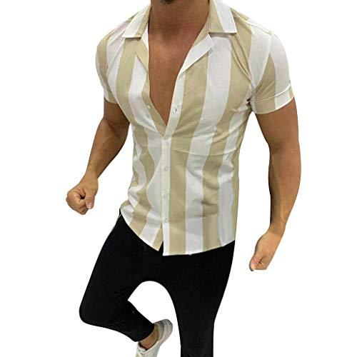 Briskorry Herren Hemd Freizeithemd Shirt Langarm Tailored Fit Langarmhemd Langärmliges Slim Fit Freizeit Business Männer Jungen Trachtenhemd