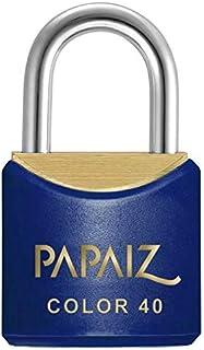 Cadeado Colorido CR40 SM Azul Papaiz