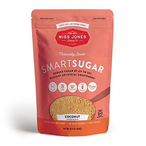 Miss Jones Baking SmartSugar - Coconut/Brown Sugar Blend, 16 Ounce