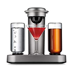 INTELLIGENT COCKTAIL CREATION: Create endless craft cocktails in the comfort of home — no need to measure or pour. Just insert a cocktail capsule into your Bartesian drink mixer machine, select your preferred strength and press mix. The system draws ...