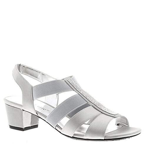 David Tate Eve Women's Sandal 9.5 B(M) US Silver