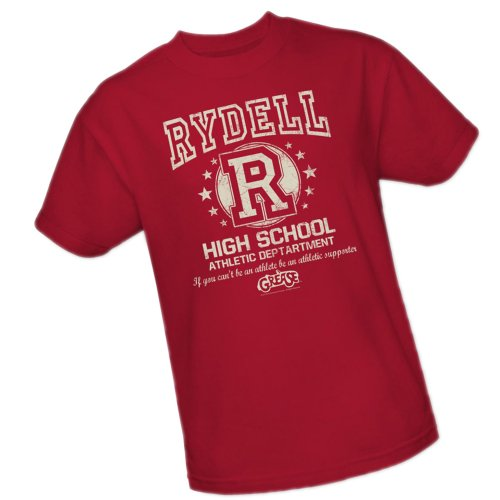 Rydell High School Athletic Department Grease Adult T-Shirt