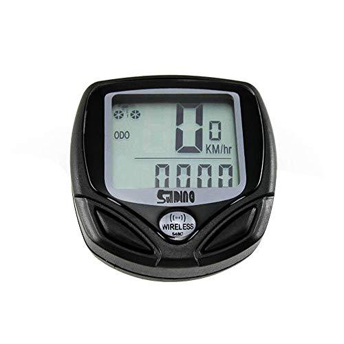 Benkeg-Tachimetro per Bicicletta Computer da Bici LCD retroilluminato Impermeabile Misuratore di velocità Senza Fili Cronometro Multifunzione per la Pista ciclabile in Tempo Reale