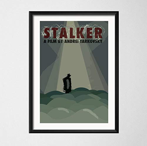 YOUCAIHUA Stalker Classic Movie Art Malerei Leinwand Poster Wand Wohnkultur 40 * 60cm ohne Rahmen