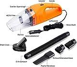 Ozoy Car Vacuum Cleaner Vacuum/Sucking, Handheld Vacuum Cleaner with Multiple Attachments & Storage