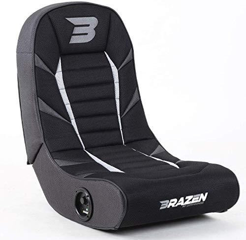 BraZen Python 2.0 Bluetooth Surround Sound Gaming Chair - Grey