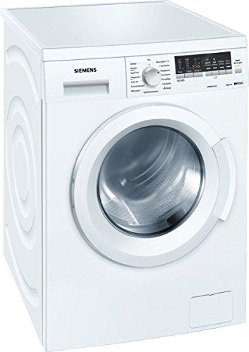 Siemens WM14Q442 - Lavadora (Independiente, Color blanco, Frente, 7 kg, 1400 RPM, A)