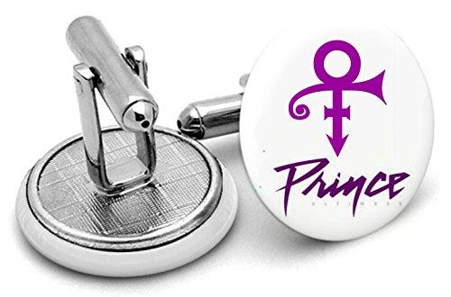 Boutons de manchette Prince Violet