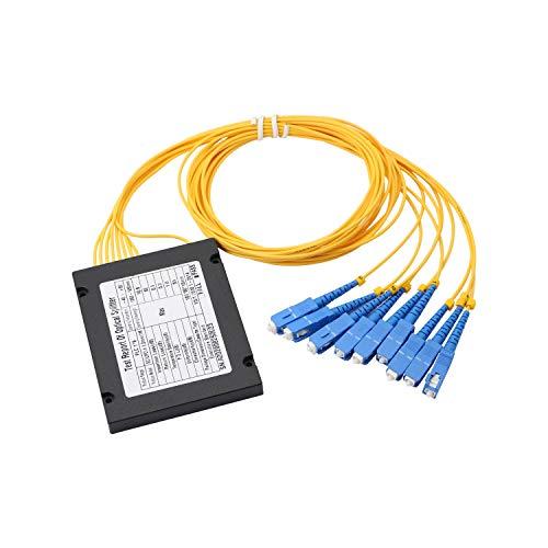 Divisor de fibra PLC, Gelrhonr SC UPC 1X8 PLC divisor de fibra...