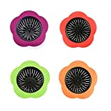 Best Sink Strainers - JIANYI 4 Pack Silicone Sink Strainer, 4.5 Inch Review