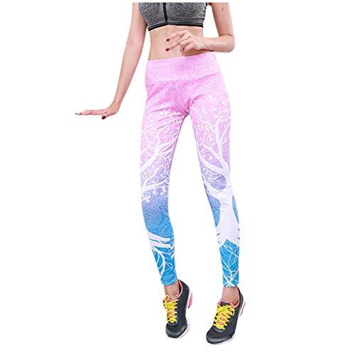 Posional Pantalones Yoga Mujeres Mallas Deportivas Mujer ImpresióN De áRbol Leggings Mujer...