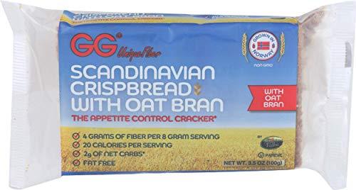 GG Crispbread Scandinavian With Oat Bran 35 Ounce