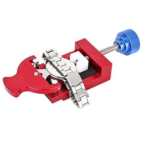 SALUTUYA Abridor de Caja de Reloj Sujete el Reloj a presión Extractor de Caja de Reloj Duradero Conveniente con Material metálico para Quitar la Caja de Reloj