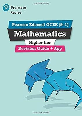 REVISE Edexcel GCSE (9-1) Mathematics Higher Revision Guide (REVISE Edexcel GCSE Maths 2015) from Pearson Education