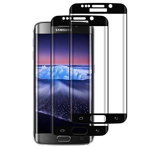 RIIMUHIR Samsung Galaxy S7 Edge Panzerglas, Anti-fingerabdruck, Hüllenfreundlich Samsung Galaxy S7 Edge Displayschutzfolie, HD Klarer Film, Blasenfrei, 2 Stück