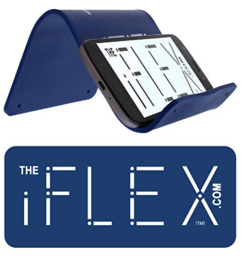 iFLEX Cell Phone & Tablet Stand Holder for in-Flight Air Travel, Stronger Than Any Competitor, Holds iPhone Android Cellphone iPad Kindle Tablet, Universal Stand/Holder, Desktop Stand, Holder for Bed