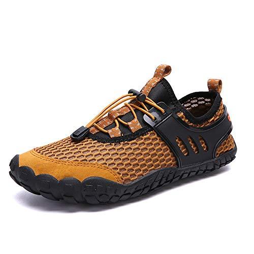 Huangwanru Zapatos de agua de los hombres y las mujeres zapatos de...