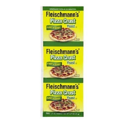 Fleischmann's Pizza Crust Yeast, 0.75 ct - PACK OF 4