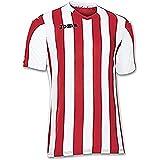 Joma Copa Camiseta de Equipación de Manga Corta, Hombre, Rojo/Blanco, L